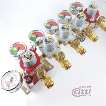 Manifold Regulador Pressão CO2
